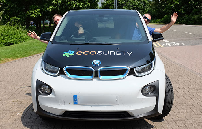 ecosurety sustainable transport bmw i3 wave