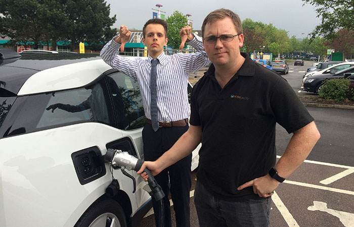 ecosurety BMW i3 road test