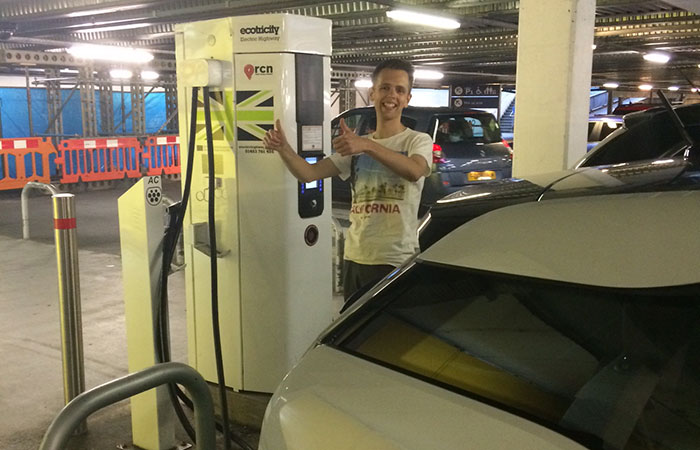 ecosurety environmentally business travel BMW i3