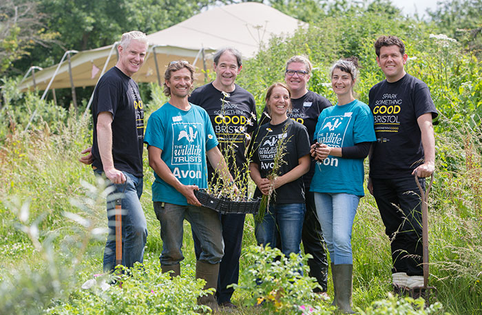 Avon Wildlife Trust volunteers