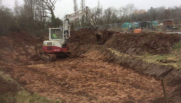 2017 Change for good project gets under way as diggers start