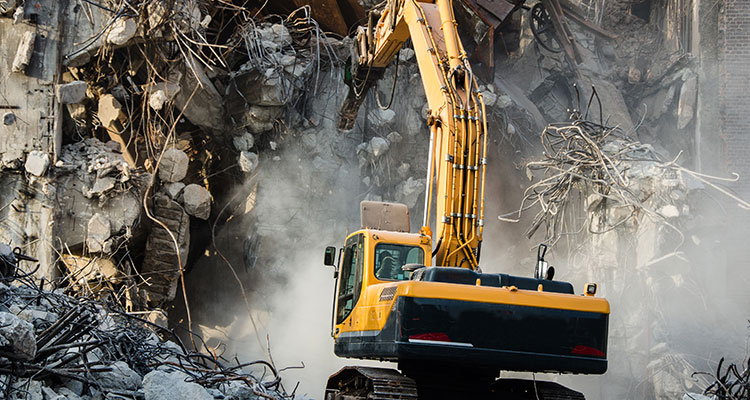 Building demolition extended producer responsibility